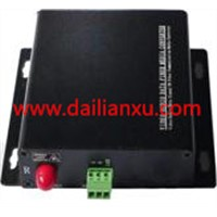 RS485 to fiber converter, RS232/422/485 Fiber Optical Modem,RS485 fiber optic transmitter(DLX-RF)
