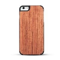 wood phone case solid phone protective cord back high quaility Iphone6/6P Rosewood