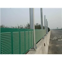 Aluminum alloy High-speed Rail sound barrier, highway noise barrier