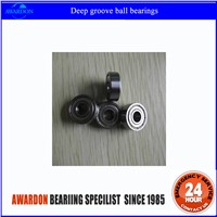 High quality and low price deep groove ball bearings 608zz