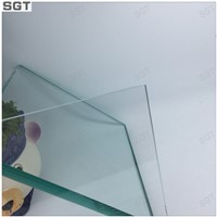 Toughened Clear ultra clear Glass