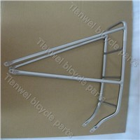 OEM Titanium rear bike rack with all time warranty
