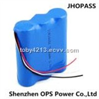 High Energy Li-ion 18650 3.7V 7500mAh Battery Pack