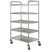 Stainless steel Trolley for Hotel