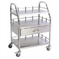 Stainless Steel Trolley for Hospital