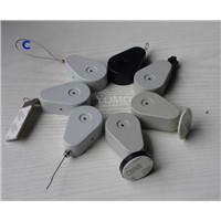 Retractors and Tethers for Retail Store Displays