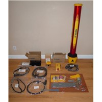 Trimble SR300 laser receiver mast GCS900 kit Gps