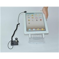 Acrylic Alarm Display Holder for Tablet PC,acrylic display stand for E-book