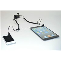 Dual Input Display Alarm Holder for Laptop or Cellphone,Secure Display Holder for mobile