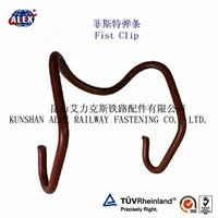Fist Clip for Railway Fastening System