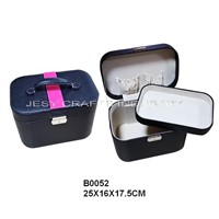 leather cosmetic box(B0052)