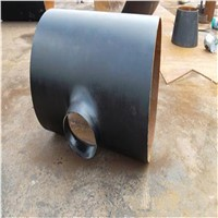 Carbon Steel Reducer Tee for Reducing Pipe