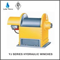 High quality 5 tons YJ5/100 small hydraulic winch in oil field