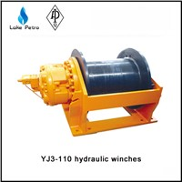 High quality 16tons YJ16/60 hydraulic winch in oil field