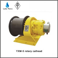High quality YXM Single drum small tons rotary hydraulic cathead in oil field