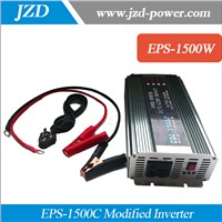 1500W Modified Inverter/Car Inverter/Solar power Inverter 12Vdc to 220Vac with AC charger