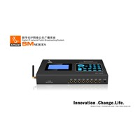 Amplifier Broadcast Terminal For IP PA System