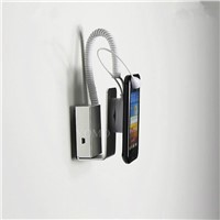 Charging Alarm Mobile Phone Display Stand,Wall-mounted Secure Display Stands for mobile phone