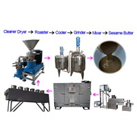 Hot selling 300kg/h Sesame Tahini Production Line