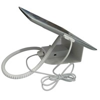 Metal Alarm and Charging Display Stand for Tablet PC,IPAD security display stand