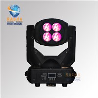 New 4*25W (100W)LED Super Beam+Wash Moving Head Light,LED Gobo Moving Head Beam Effect For Club,Bar