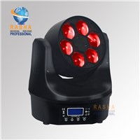 Rasha Hot Sale 6pcs*15W RGBW 4in1 LED Big Eye Moving Head Light,LED Moving Head Beam Light