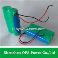 high quanlity rechargeable li ion battery 18650 7.4v 2000mah li-ion battery