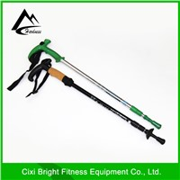 Adjustable inner lock small telescopic pole