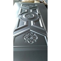 high emboss metal door skin