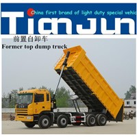 China factory hydraulic tipper trailer price