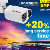 LS VISION Full hd mini bullet 1080p full digital cctv camera lowes outdoor security cameras