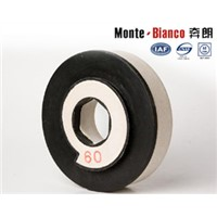 high quality resin bond silicon carbide chamfering wheel for ceramic edges