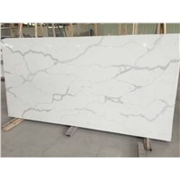 Marble Like Quartz Slab for Multifamily/Hospitality Projects