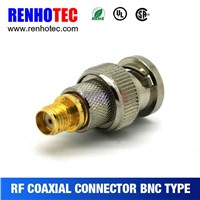 China Supplier nickeling bnc connector for CCTV system