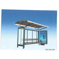 Stainless steel bus shelter for Adv (HS-BS-016)