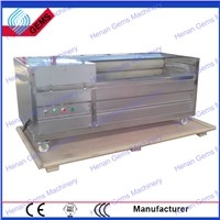 onion washing and peeling machine