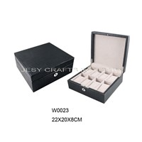 Mens leather watch box(W0023)