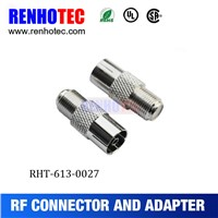 Supply Female F to Female PAL adapter for television application