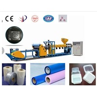 plastic extruder PP PS PET plastic sheet making machine,