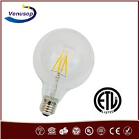 Globe LED Filament bulb G95 6W E27 Dimmable