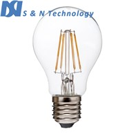 Glass house A15 A19 A60 2W,4W 6W,8W CE RoHS led filament bulb