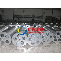 External wedge wire rotating drum screen