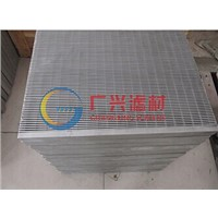 Mining wedge wire flat panel screen plate