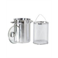 Oggi 5624.0 3-Piece Asparagus Stainless Steel Steamer Set