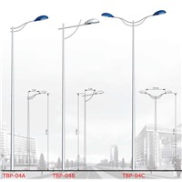 single and double arm lighting pole TBP-04
