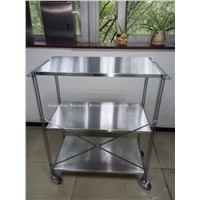 Stainless steel trolley for Hotel (HS-T-010)