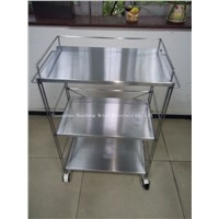 Stainless steel trolley for hotel (HS-T-008)