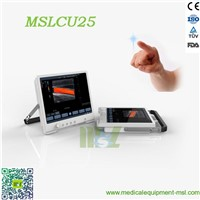 Protable touch screen color doppler ultrasound MSLCU25 for sale