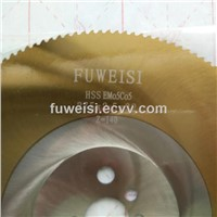 HSS Circular Saw Blade TiN Coated.