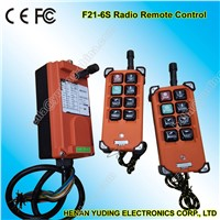 Crane Radio Remote Controls F21-6s